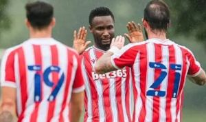 Mikel scores in first game for Stoke