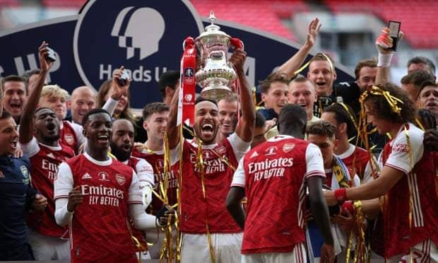 , Arsenal beat Chelsea 2-1 to win FA Cup, Effiezy - Top Nigerian News & Entertainment Website