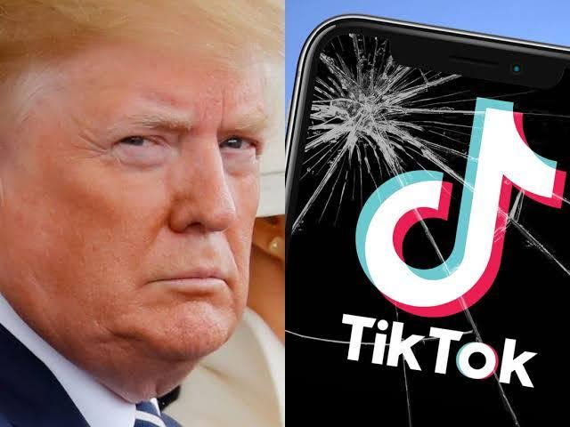 , Trump to ban Chinese owned TikTok in U.S, Effiezy - Top Nigerian News & Entertainment Website