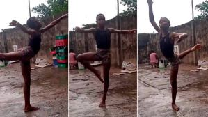 11 years boy Anthony Madu wows world with ballet dance, earns US scholarship