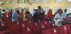 Lagos churches comply with COVID-19 guidelines as church resumes today