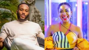 BBNaija 2020: Kiddwaya massages Erica's boobs, asks if she needs enlargement