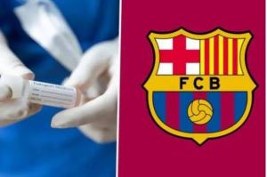 Barcelona player test positive to COVID-19 ahead of Bayern clash