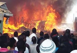 2 feared dead as Gas explode in Irete, Imo - Drama as police, fire fighters in superiority fight (Video)