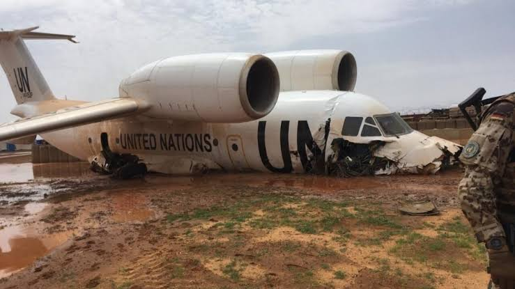 UN plane crash-lands in Mali, injures 11