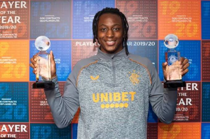 Super Eagles midfielder Joe Aribo wins 2 awards at Rangers