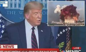 Lebanon blasts: Beirut death toll hits 100, Trump suggests cause