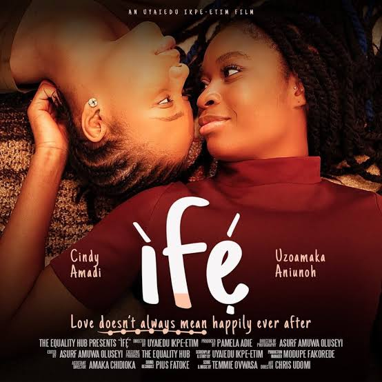 ", First Nigerian lesbian film ""Ife"" uploaded on YouTube, Effiezy - Top Nigerian News & Entertainment Website"