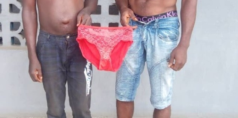 Teenager arrested with 14 female pants in Ogun