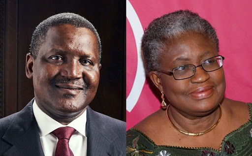 Dangote Endorses Okonjo-Iweala As Director-General Of World Trade Organisation