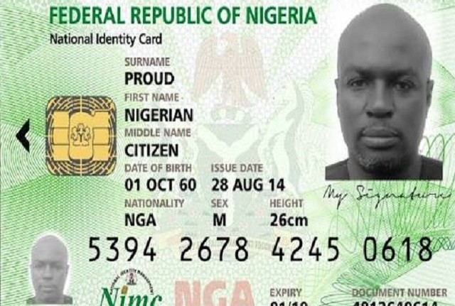 Nigeria To Replace National Identity Card With Digital Number