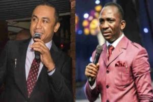 Oyedepo: You're a mad dog with bipolar – Dunamis pastor, Paul Enenche attacks Daddy Freeze