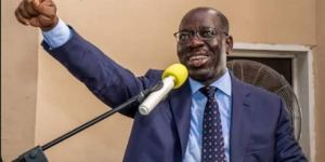 Edo Decides: Obaseki defeats Ize-Iyamu in his polling unit