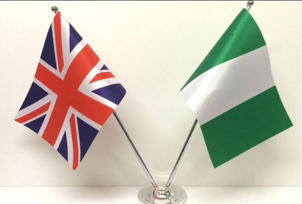 UK Nigeria flag