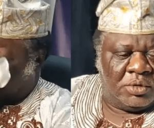 I Have Been Sleeping in Church, I Have No House to Lay Down My Head'- Actor, Chief Kanran Breaks Down In Tears As He Narrates Sad Story