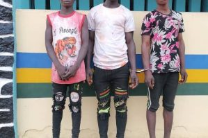 Police arrest three young men for gang-raping 16-year-old girl in Ogun (Photo)