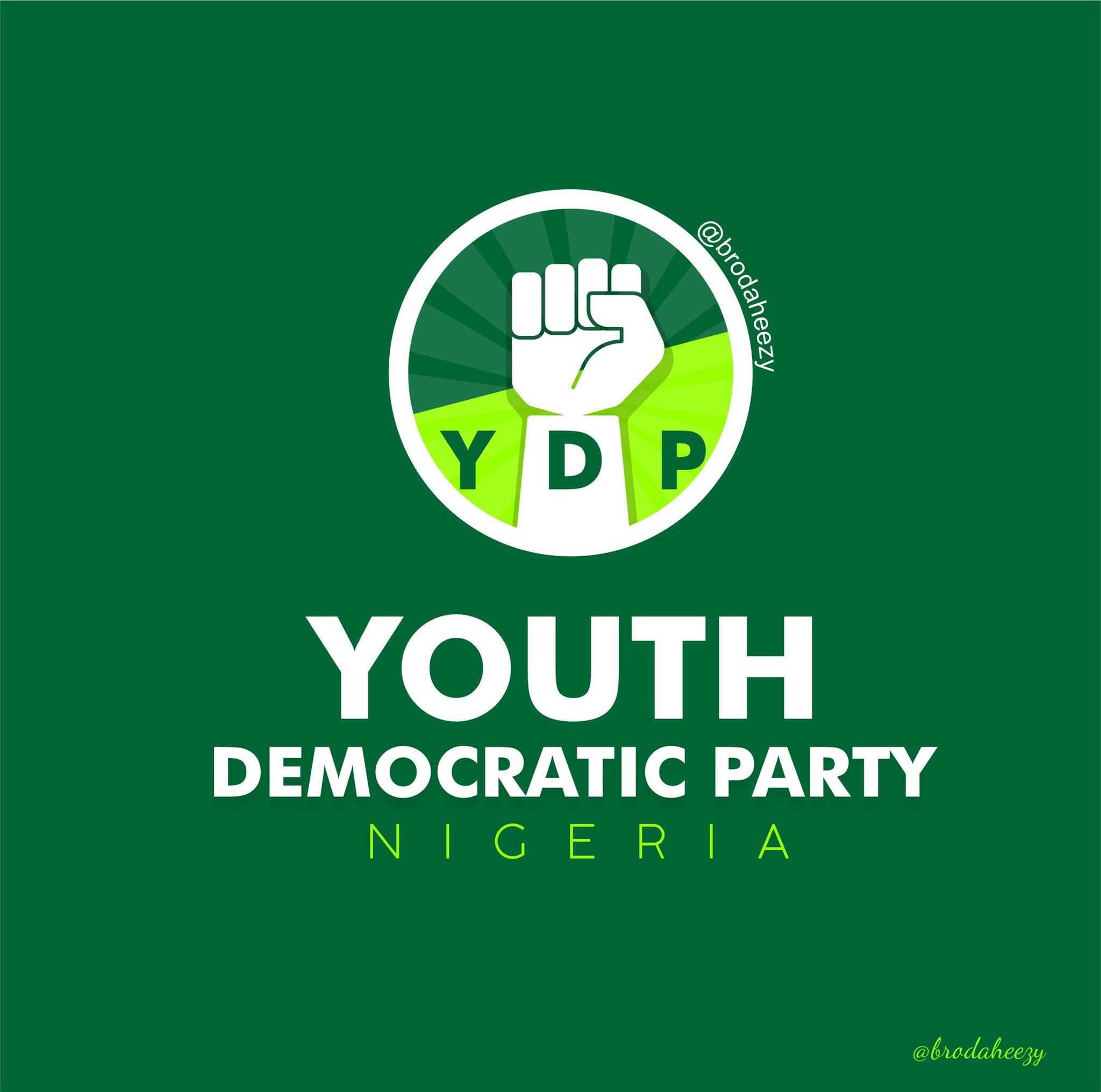 #YouthDemocraticParty, Young protesters create their own party