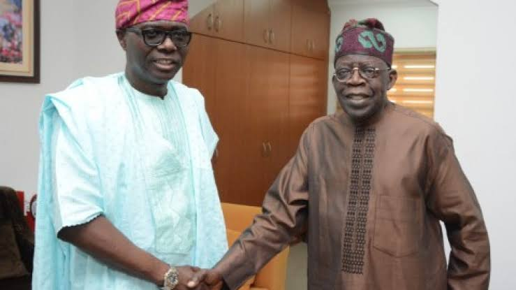 Tinubu debunk claim of traveling out of the country, visits Sanwo-Olu in Marina