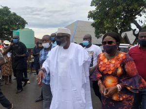 Akeredolu votes, says God will give him victory