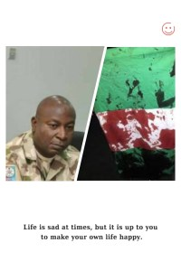 Lekki Toll Gate shooting: Gen. Francis Omata pinned down as the officer that gave the kill order