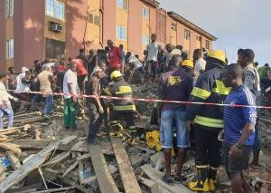 Update: Death toll from Obalende, Lagos collapsed building rises (See clip)