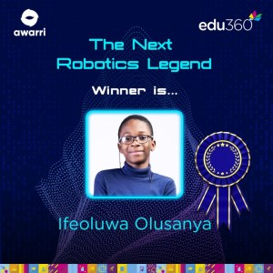 11-year-old emerges winner of Union Bank Next Robotics Legend Competition