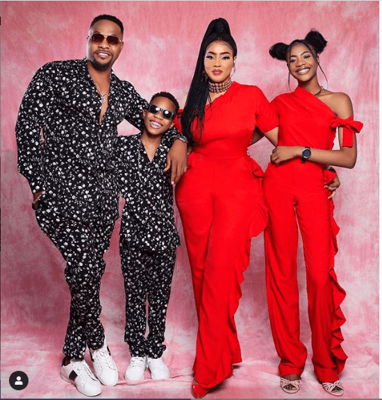 I'm obsessed with my wife – Bolanle Ninalowo with his family