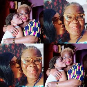 Nollywood actress Iyabo Ojo loses mum