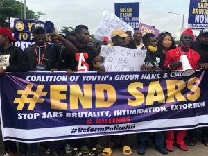 Nigerian government goes after #EndSARS promoters, freezes their acct