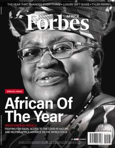 Ngozi Okonjo-Iweala wins Forbes 'African Of The Year' Award 2020