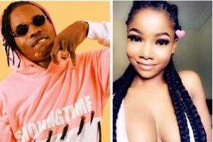 """My heart, my soul for you"" — Tacha receives flowers from Naira Marley (Video)"