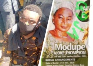 I killed my mum because she was a witch, runaway soldier confesses