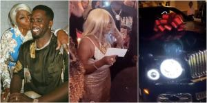 American music mogul Diddy celebrate mum with gifts as she marks her birthday