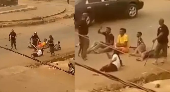 Imo police arrest officers for assaulting 5 Nigerians seen Orlu viral video, Imo police arrest officers for assaulting 5 Nigerians seen Orlu viral video, Effiezy - Top Nigerian News & Entertainment Website