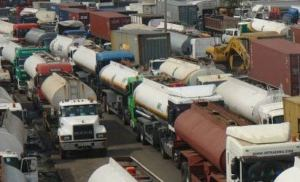 Lagos bans trucks, trailers from plying roads in the state day time