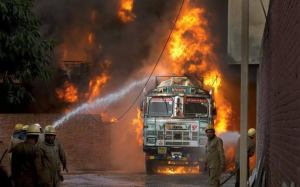 , Fire kills ten newborn babies in india, Effiezy - Top Nigerian News & Entertainment Website