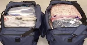 NDLEA nabs hairdresser Ifesinachi for smuggling cocaine in 16 duvet covers into Nigerian
