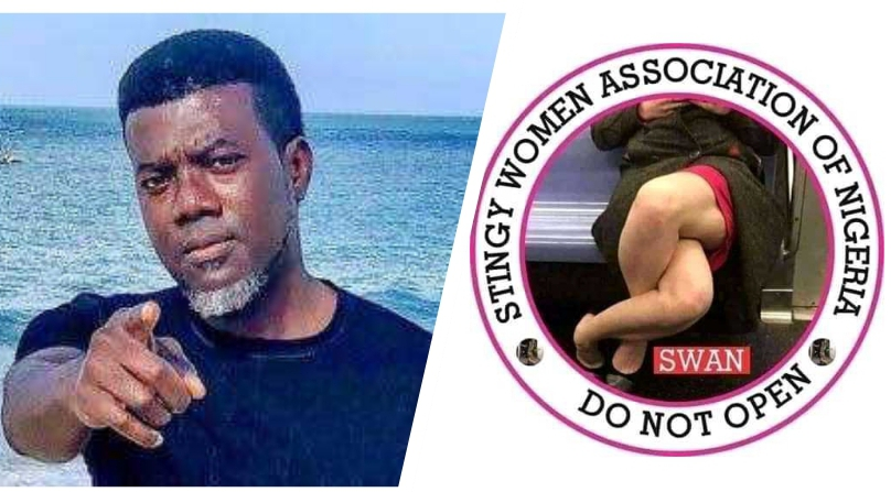 , Reno Omokri On Stingy Women Association: 'Open A Business,' Not Your Legs, Effiezy - Top Nigerian News & Entertainment Website