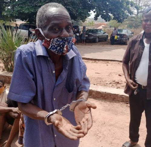 , 72-year-old pastor arrested for defiling 13-year-old girl in Ibadan, Effiezy - Top Nigerian News & Entertainment Website