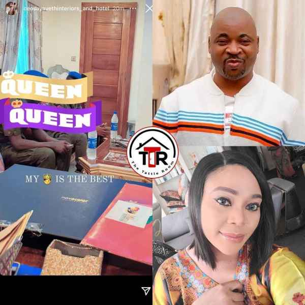 """, """"My king is the best"""" Ehi Ogbebor hails her man, MC Oluomo for sending her two policemen to move around with, Effiezy - Top Nigerian News & Entertainment Website"""
