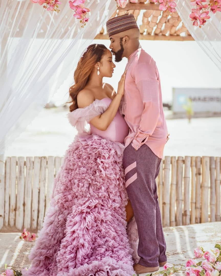 Banky W and Adesua Etomi welcome baby boy, Banky W and Adesua Etomi welcome baby boy (Photo), Effiezy - Top Nigerian News & Entertainment Website