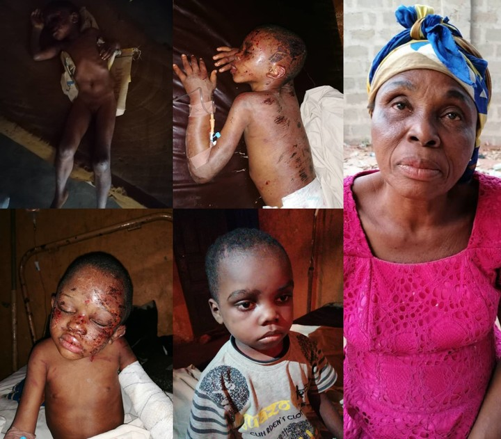 Bloodied children rescued from house filled with fetish items in Anambra (Shocking video + photos), Bloodied children rescued from house filled with fetish items in Anambra (Shocking video + photos), Effiezy - Top Nigerian News & Entertainment Website