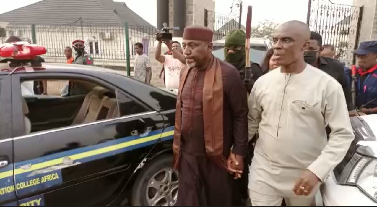 Imo Gov, Uzodinma ordered my arrest – Okorocha cries out from police station