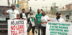 Outrage as police detain six protesters in Lagos