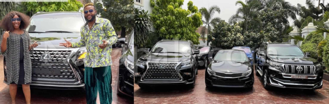 , E-Money gives out three expensive cars on his birthday, Effiezy - Top Nigerian News & Entertainment Website