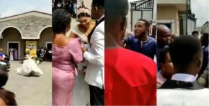 Bride in tears as pastor refuses to join couple because of 5 minutes lateness to church (video)