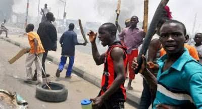 Lagos Island boils as NURTW rival groups clash in Obalende