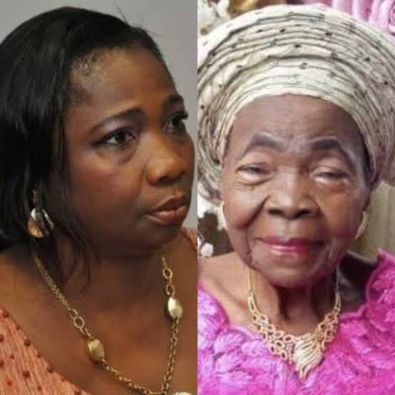 Dabiri-Erewa loses mother, presidency reacts