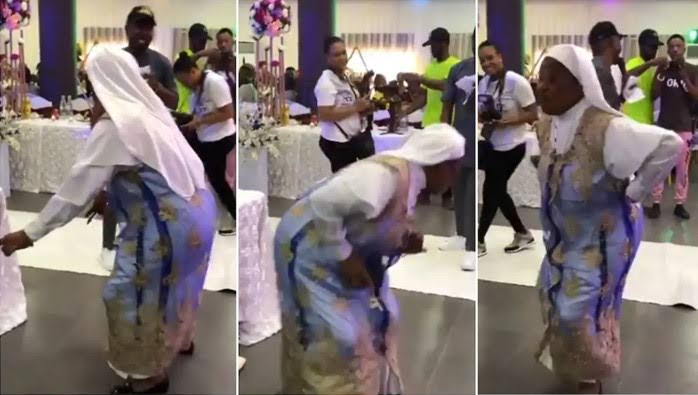 """Reverend Sister moves her body to Timaya's song """"I concur""""(video)"""