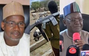 """""""Which law permits herders to carry AK-47"""", Governor Ortom blast Bala Mohammed"""